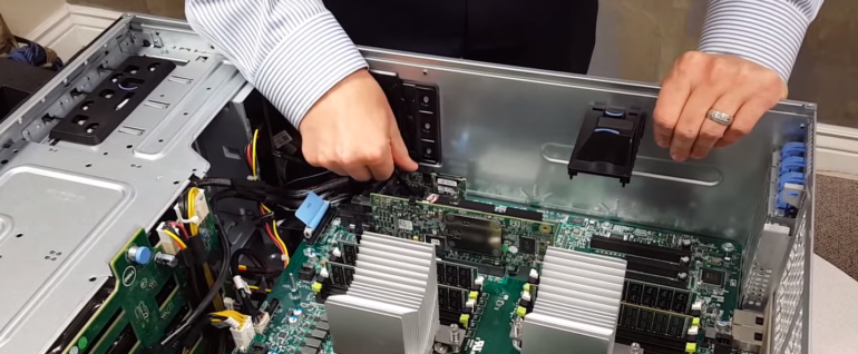 Unboxing Dell PowerEdge T630